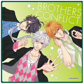 BROTHERS CONFLICT マイクロファイバーミニタオル 三つ子Ver.